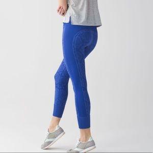 Lululemon Ebb To Street Pant Heathered Blue